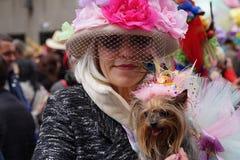 2015个NYC复活节游行117 免版税库存照片