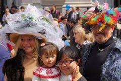 2015个NYC复活节游行115 库存图片
