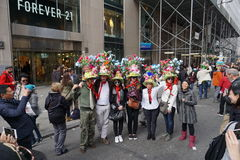 2015个NYC复活节游行82 免版税库存图片