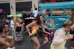 2015个NYC舞蹈游行第2部分15 免版税库存照片