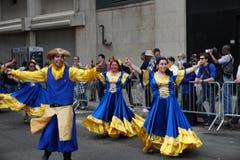 2015个NYC舞蹈游行第2部分71 库存照片