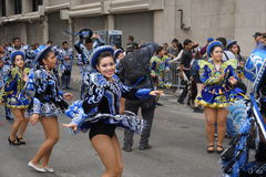 2015个NYC舞蹈游行第2部分72 免版税库存照片
