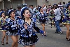 2015个NYC舞蹈游行第2部分73 免版税图库摄影