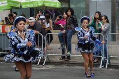 2015个NYC舞蹈游行第2部分75 库存图片