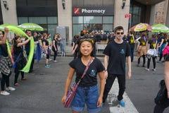 2015个NYC舞蹈游行第2部分84 免版税图库摄影