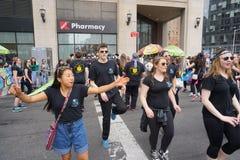 2015个NYC舞蹈游行第2部分85 免版税库存图片