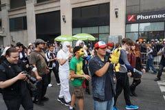 2015个NYC舞蹈游行第2部分87 免版税库存照片