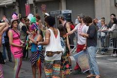 2015个NYC舞蹈游行第2部分90 库存图片