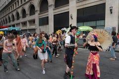 2015个NYC舞蹈游行第2部分92 免版税图库摄影