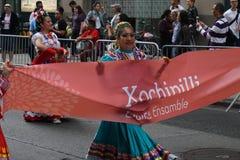 2015个NYC舞蹈游行第2部分100 免版税库存照片