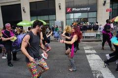 2015个NYC舞蹈游行第3部分29 免版税库存图片