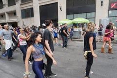 2015个NYC舞蹈游行第3部分30 免版税图库摄影