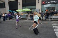 2015个NYC舞蹈游行第3部分34 库存照片