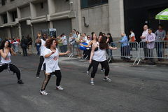 2015个NYC舞蹈游行第3部分38 免版税库存照片