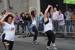 2015个NYC舞蹈游行第3部分39 库存图片