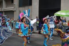 2015个NYC舞蹈游行第3部分47 免版税图库摄影
