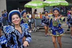 2015个NYC舞蹈游行第3部分49 免版税库存照片