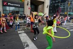 2015个NYC舞蹈游行第3部分54 库存照片