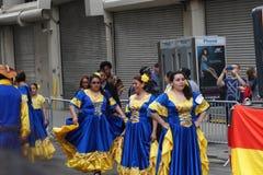 2015个NYC舞蹈游行第3部分71 库存照片