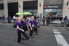 2015个NYC舞蹈游行第3部分72 免版税库存图片