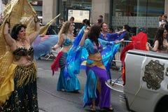 2015个NYC舞蹈游行第3部分77 库存照片