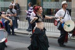 2015个NYC舞蹈游行第3部分80 免版税库存图片