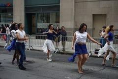 2015个NYC舞蹈游行第3部分82 库存照片