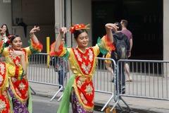 2015个NYC舞蹈游行第3部分86 库存照片