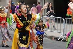 2015个NYC舞蹈游行第3部分87 库存图片