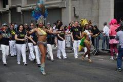 2015个NYC舞蹈游行第3部分93 免版税库存照片