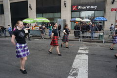 2015个NYC舞蹈游行第3部分95 免版税图库摄影