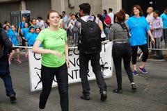 2015个NYC舞蹈游行第3部分97 免版税库存照片