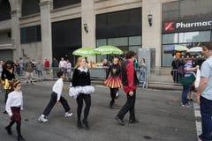 2015个NYC舞蹈游行第3部分99 免版税库存照片