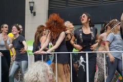 2015个NYC舞蹈游行第4部分20 库存照片