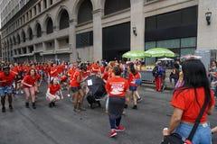 2015个NYC舞蹈游行第4部分21 免版税库存照片
