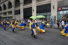 2015个NYC舞蹈游行第4部分23 库存照片