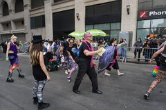 2015个NYC舞蹈游行第4部分28 库存照片