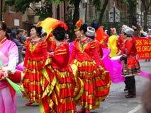 2016个NYC舞蹈游行第2部分32 免版税库存照片