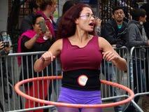 2016个NYC舞蹈游行第3部分34 库存照片