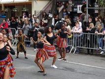 2016个NYC舞蹈游行10 库存图片