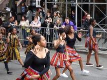 2016个NYC舞蹈游行12 库存照片