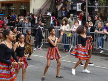2016个NYC舞蹈游行14 免版税库存照片
