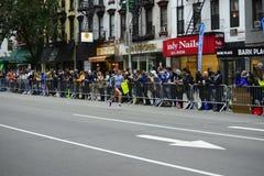 2017个NYC马拉松-妇女 库存图片