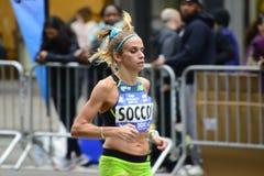2017个NYC马拉松-妇女 免版税库存照片