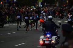 2017个NYC马拉松-精神精华领导 免版税库存照片