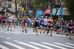 2017个NYC马拉松 图库摄影