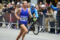 2017个NYC马拉松 免版税图库摄影