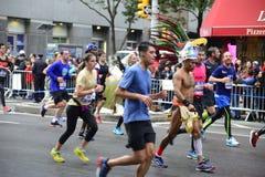 2017个NYC马拉松 免版税库存照片