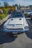 1968个shelby野马gt350敞篷车 免版税库存图片