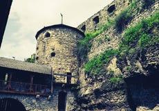 中世纪伪造塔 库存照片
